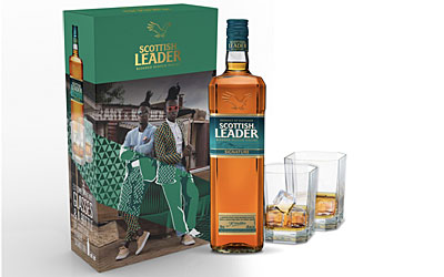 Scottish Leader Blended Scotch Whisky Giftpack
