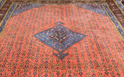 Persian Carpet Hand-made Ardebil – Fine