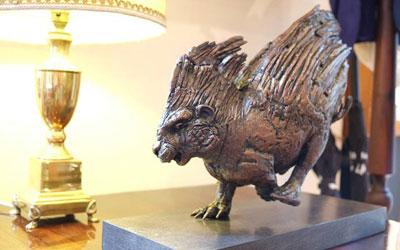 Bronze Porcupine Maquette by Stephen Rautenbach