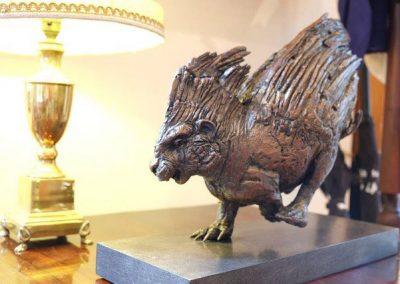 Porcupine-Maquette-bronze-stephen-rautenbach-1