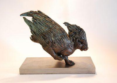 Porcupine-Maquette-bronze-stephen-rautenbach-2